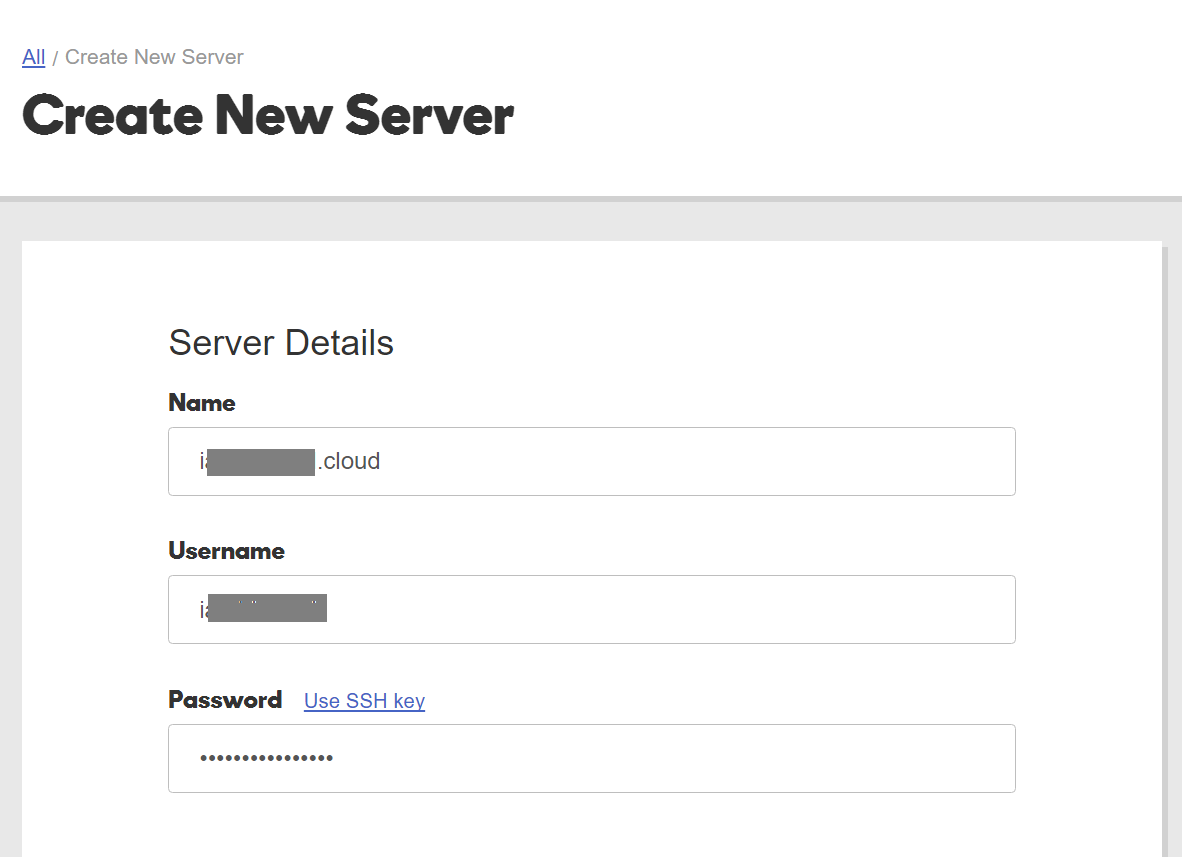 how to create database in godaddy server
