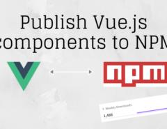 Publish Vue.js components to NPM
